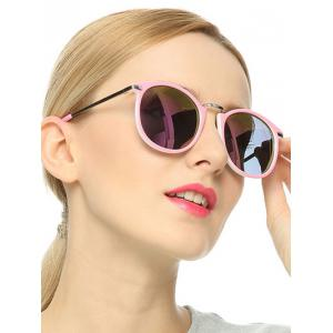 Stylish Full Frame Polarized Mirrored Sunglasses -