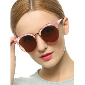 Stylish Pink Polarized Mirrored Sunglasses -