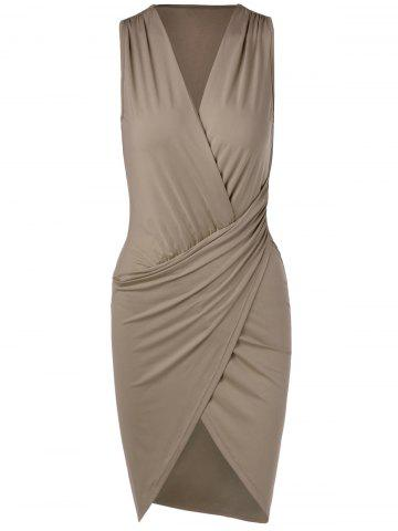 Buy Draped Bodycon Tank Dress