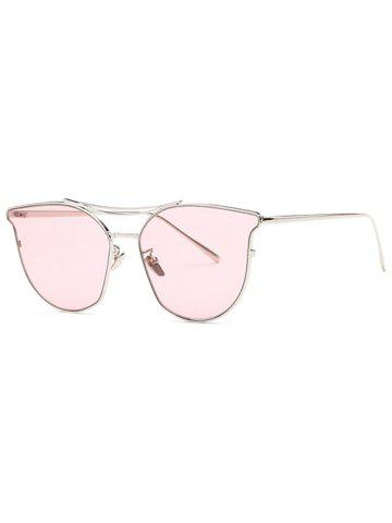 Shops Stylish Full Frame Pilot Cat Eye Sunglasses PURPLISH RED