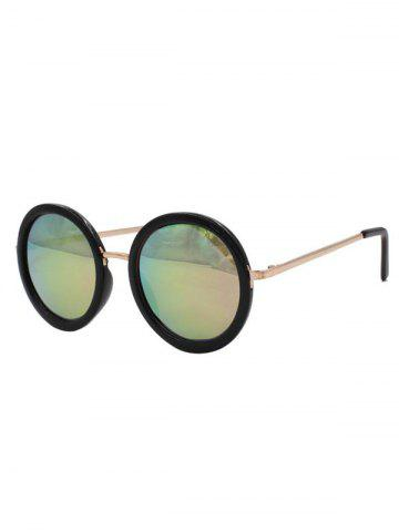 Online Stylish Colorful Round Mirrored Sunglasses