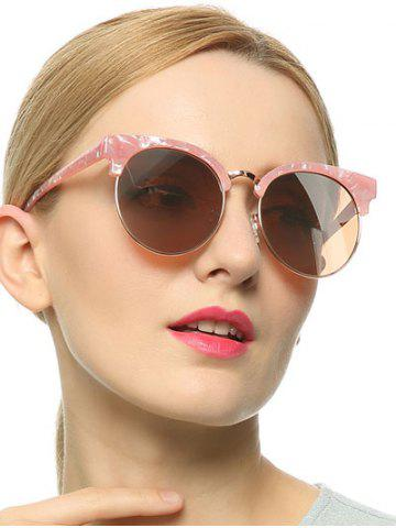 Fancy Stylish Pink Polarized Mirrored Sunglasses