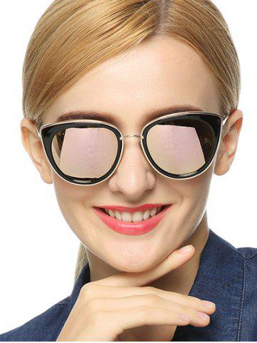 Cheap Stylish Butterfly Mirrored Sunglasses