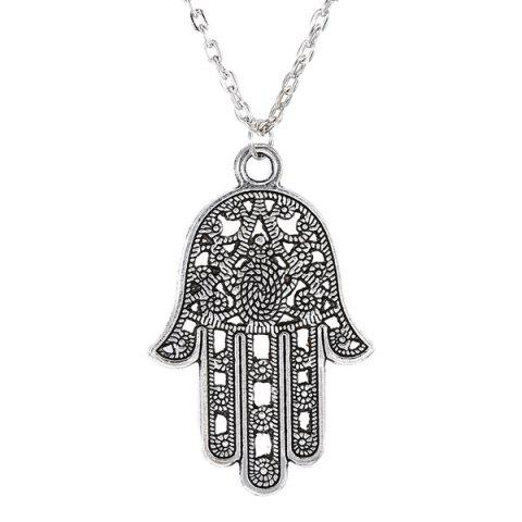 Online Vintage Hollow Out Hand Sweater Chain For Women
