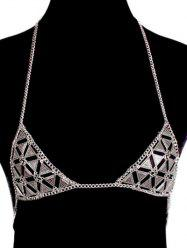 Vintage Bra Triangle Beach Body Jewelry