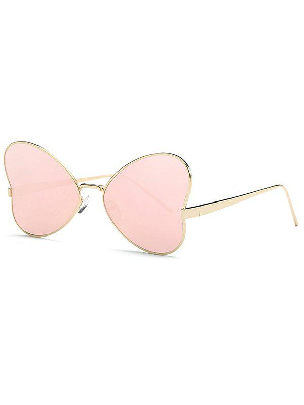 8e93c98693f 2018 Stylish Hipsters Heart Shape Mirrored Sunglasses In Rose Gold ...