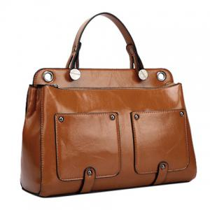 Fashion Stitching and Metal Design Tote Bag For Women