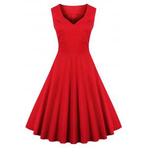 Vintage Going Out Flare Cocktail Dress