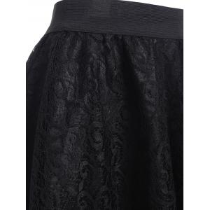 See-Through Lace A Line Skirt -
