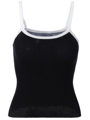 Latest Knit Candy Color Tank Top