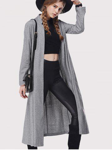 Hot Stand Collar Loose-Fitting Trench Coat