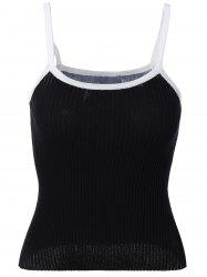 Knit Candy Color Tank Top -