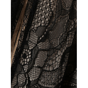 Slimming Lace Flare Dress For Women -