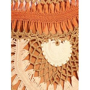 Trendy Cut Out Crochet Cover-Up -