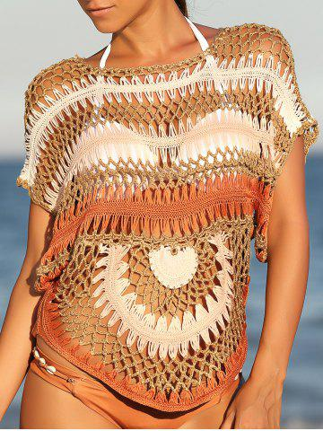 Shop Trendy Cut Out Crochet Cover-Up