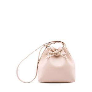 Leather String Shoulder Bag