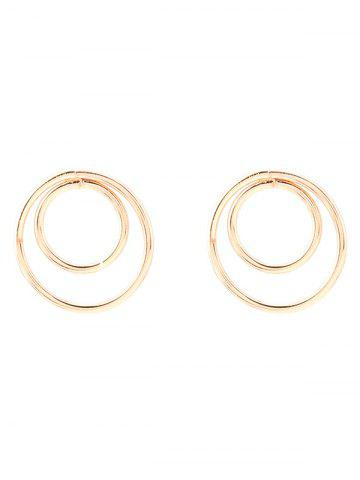 Outfits Circles Minimalist Design Earrings