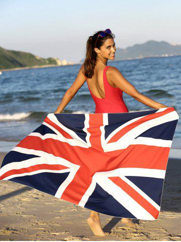 Sale Flag Pattern Square Sarong Cover Up