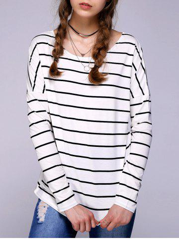 Store Brief Striped Comfy T-Shirt