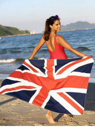 Flag Pattern Square Sarong Cover Up -