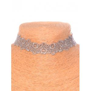 Hollow Out Blossom Choker