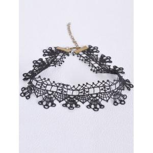 Hollow Out Geometric Choker