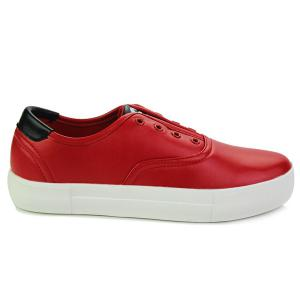 Trendy Colour Splicing and Eyelet Design Casual Shoes For Men -
