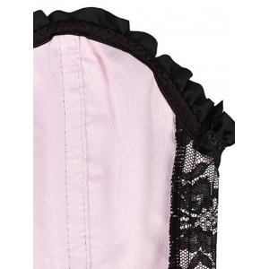 Alluring Lace-Up Bowknot Embellished Women's Corset -