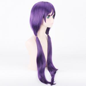 Charming Uniform Style Purple Extra Long With Bunches Anime Love Live Tojo Nozomi Cosplay Wig -