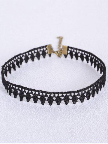 New Vintage Leaf Choker BLACK