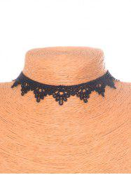 Gothic Floral Lace Choker