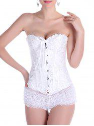 Alluring Lace-Up Slimming Women's Corset
