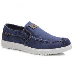 Simple Stitching and Elastic Design Casual Shoes For Men -