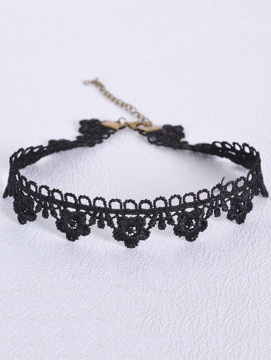 Sale Vintage Hollowed Flower Choker