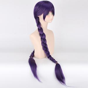 Vogue Long With Double Braided Love Live Tojo Nozomi Awake Cheongsam Fairytale Style Cosplay Wig -