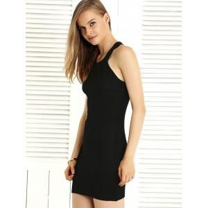 Alluring Hollow Out Convertible Knitted Dress For Women -