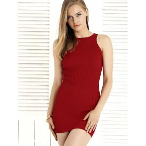 Simple Crossover Bodycon Convertible Dress For Women -