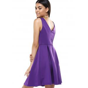 Stylish Sleeveless Pure Color Dress For Women -