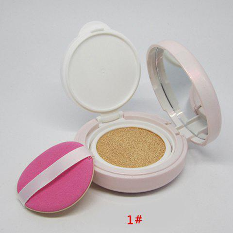 Stylish Anti UV Concealer Air Cushion BB Cream with Mirror and Puff -