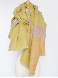 Stylish Colorblocked Shawl Wrap Scarf