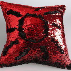 Mermaid Reversible Sequins DIY Sofa Cushion Pillow Case -