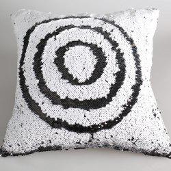 DIY Reversible Bling Sequins Sofa Decorative Pillow Case