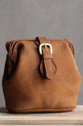 Snap Closure Crossbody Bag