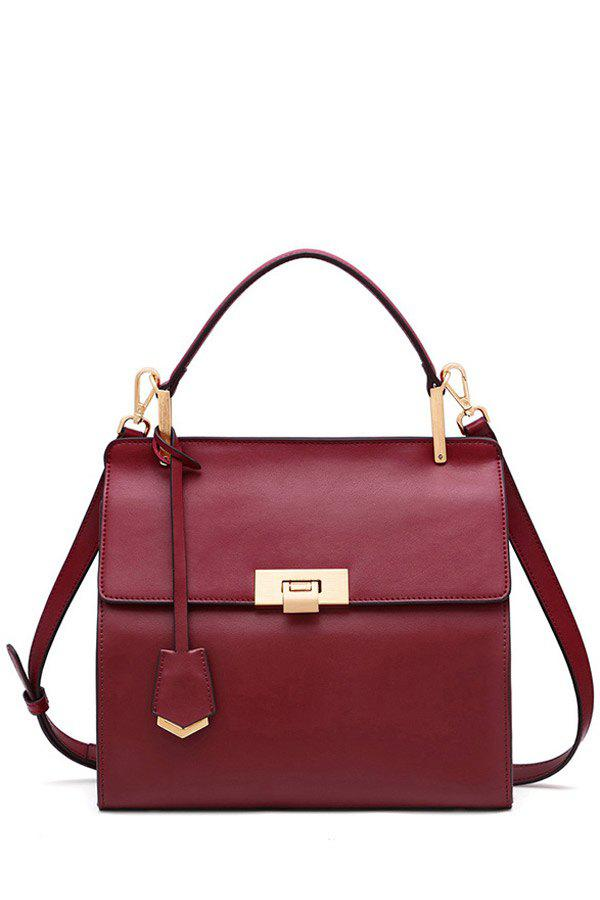 New Retro Style Leather Tote Bag