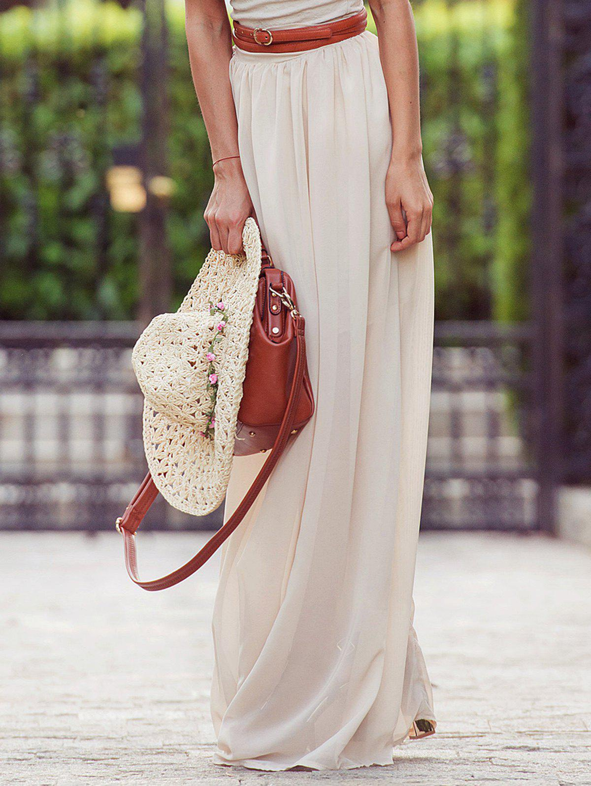 Outfit Flowy Maxi Skirt