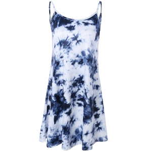 Tie Dye Summer Slip Dress