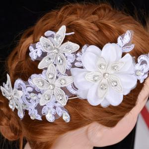 Graceful Floral Wedding Jewelry Hairband For Women