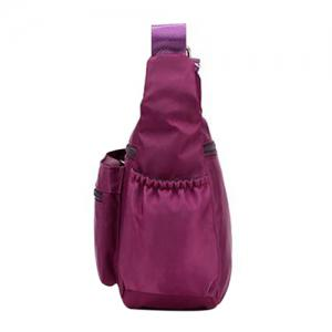 Leisure Zippers and Nylon Design Shoulder Bag For Women -