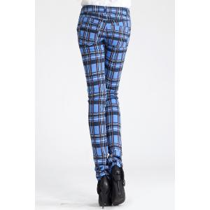 Plaid Pencil Pants -
