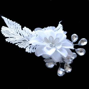 Graceful Leaf Floral Wedding Jewelry Hair Decoration -